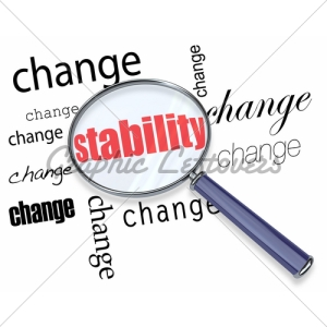 searching-for-stability-amidst-change-magnifying-glass